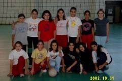 Campionato femminile U13 2002-2003